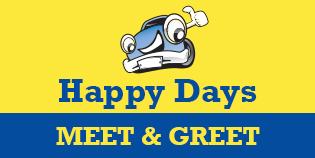 Heathrow Happy Days Meet and Greet (T2, 3 & 5) logo