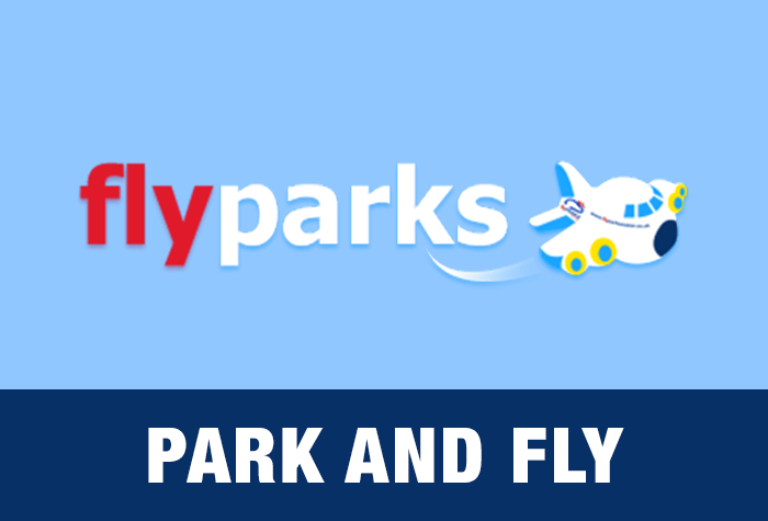 Exeter Flyparks Park and Fly logo