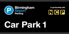 Birmingham Airport Car Park 1 (formerly Short and Medium Stay 1) logo
