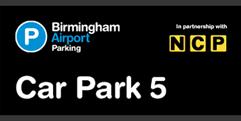 Birmingham Airport Car Park 5 (formerly Long Stay 1) logo