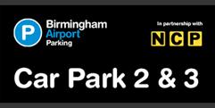 Birmingham Airport Car Parks 2 & 3 (formerly Short and Medium Stay 2 & 3) logo