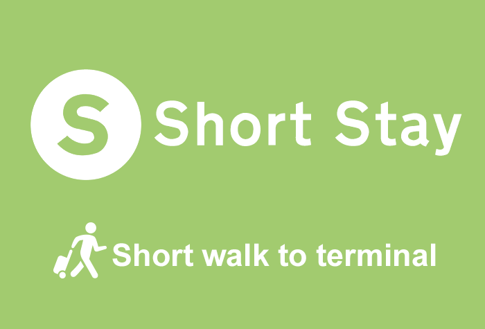 Cardiff Airport Short Stay logo