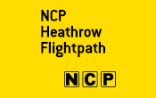 Heathrow NCP Flightpath - Terminals 2 and 3 logo