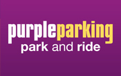 Gatwick Purple Parking logo