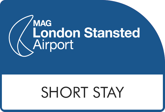 Stansted Official Short Stay Premium - Yellow Zone logo