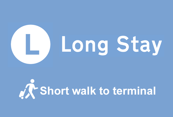 Cardiff Airport Long Stay logo