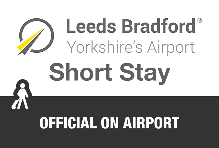 Leeds Bradford Airport Short Stay logo