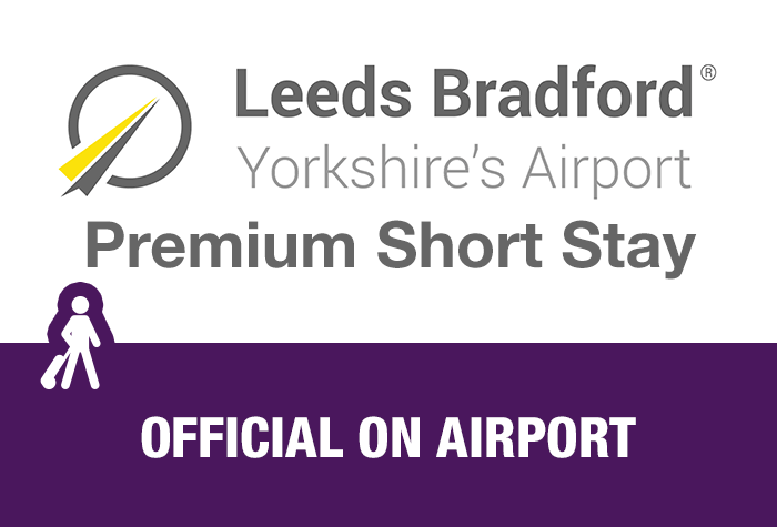 Leeds Bradford Airport Premium Short Stay with Fast Track logo