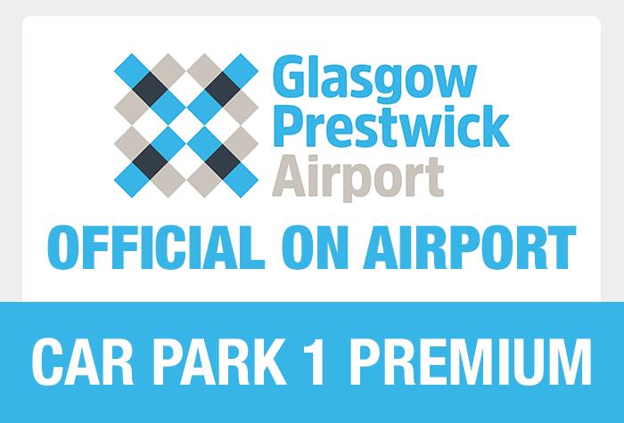 Glasgow Prestwick Car Park 1 logo