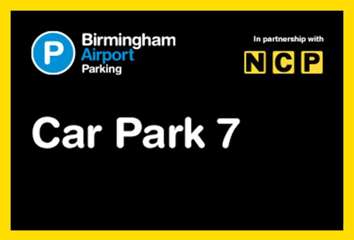 Birmingham Airport Car Park 7 logo