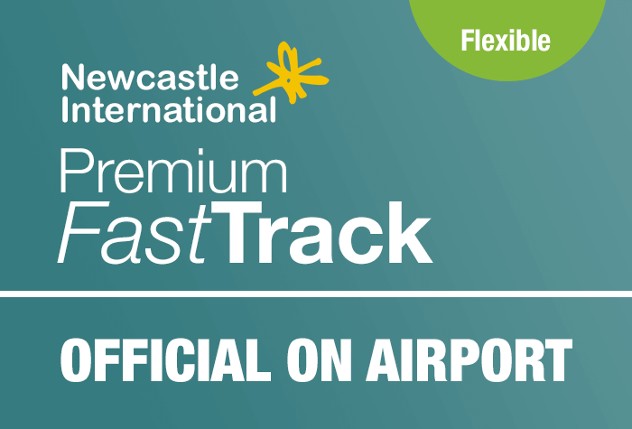 Newcastle Official On Airport Premium Fast Track logo