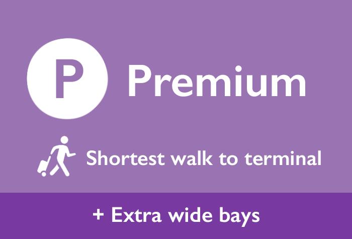 Cardiff Airport Premium Parking logo