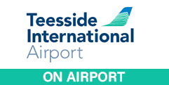 Teesside Official On Airport Parking logo